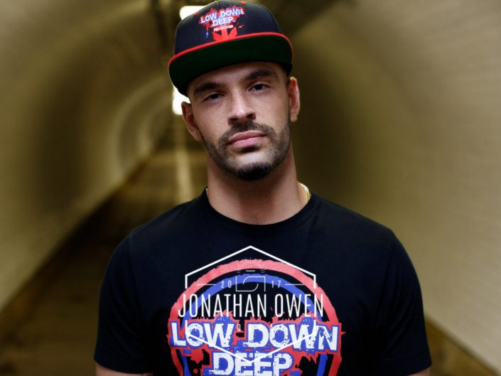 Low Down Deep MC, Producer and DJ photoshoot